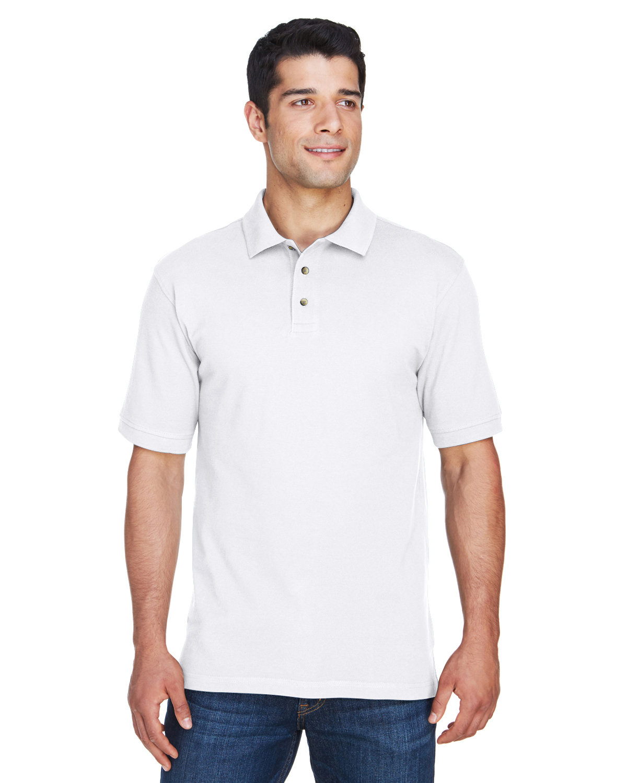 - Wine S Harriton Boys 6 oz M200Y Ringspun Cotton Pique Short-Sleeve Polo