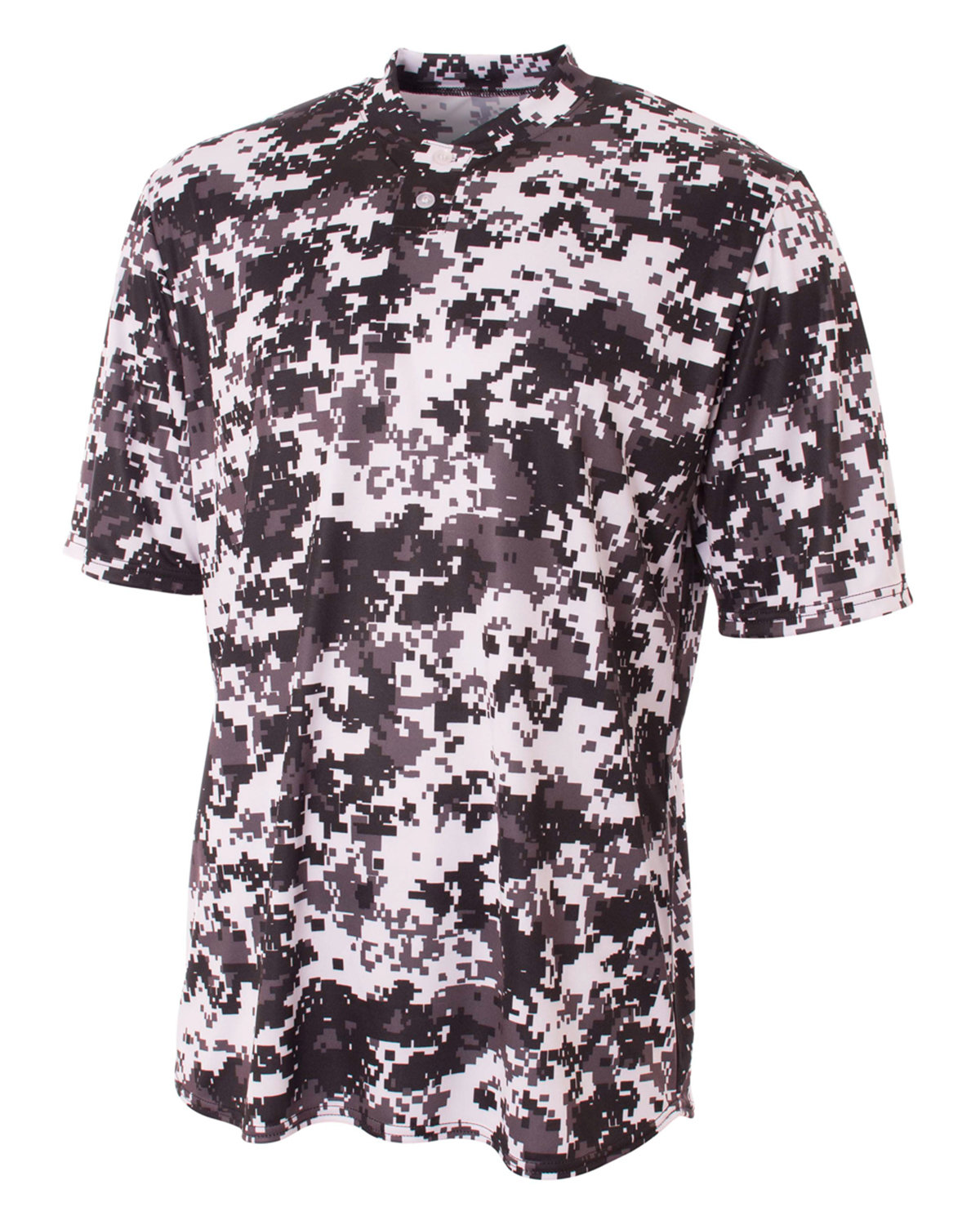 Sand Camouflage, Medium UltraClub A4 Youth Camo Performance Tee