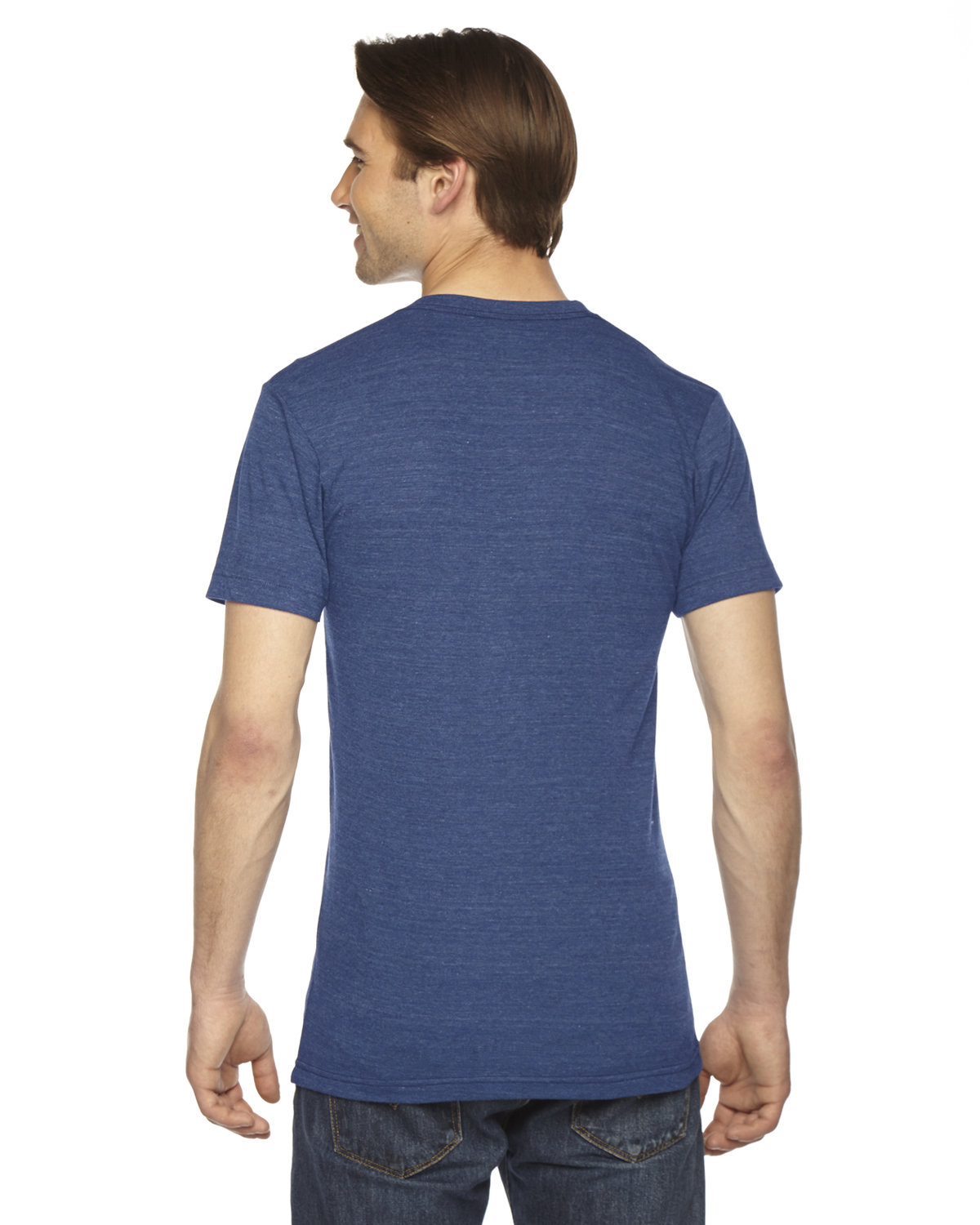 27cd7e1432f TR401 American Apparel Unisex Triblend USA Made Short-Sleeve Track T-Shirt.  Touch to zoom. Color Shown  tri indigo