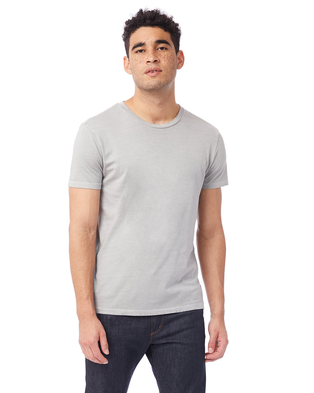 Alternative Men's Heritage Garment-Dyed Distressed T-Shirt GREY PIGMENT