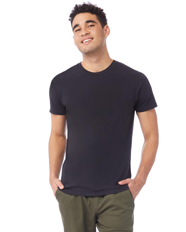 Alternative Men's Heritage Garment-Dyed Distressed T-Shirt SMOKE GREY
