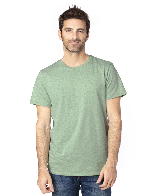 Threadfast Apparel Unisex Ultimate T-Shirt ARMY HEATHER
