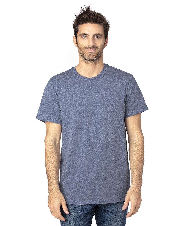 Threadfast Apparel Unisex Ultimate T-Shirt NAVY HEATHER