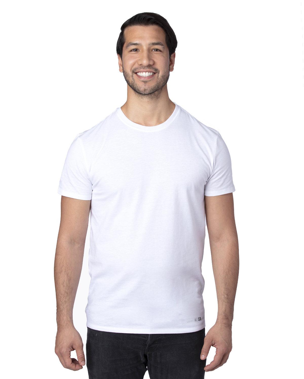 Threadfast Apparel Unisex Ultimate T-Shirt RFID WHITE