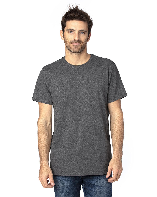 Threadfast Apparel Unisex Ultimate T-Shirt CHARCOAL HEATHER
