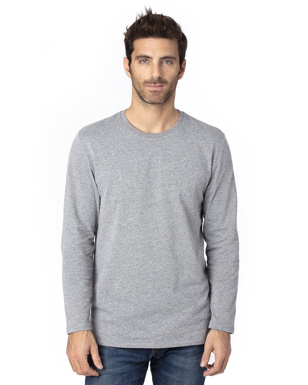 Threadfast Apparel Unisex Ultimate Long-Sleeve T-Shirt HEATHER GREY