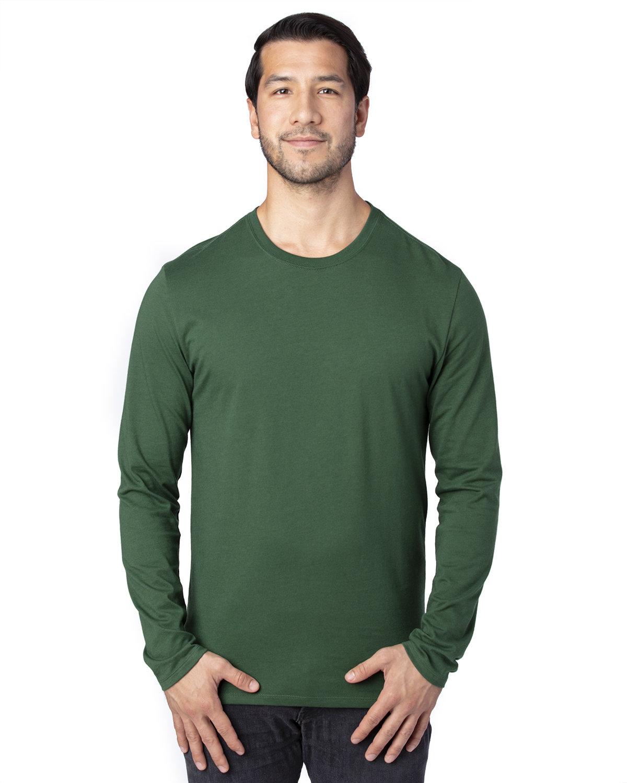 Threadfast Apparel Unisex Ultimate Long-Sleeve T-Shirt FOREST GREEN