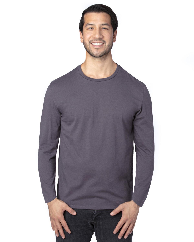 Threadfast Apparel Unisex Ultimate Long-Sleeve T-Shirt GRAPHITE