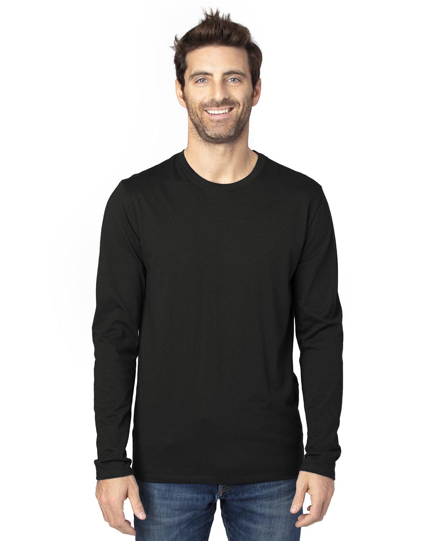 Threadfast Apparel Unisex Ultimate Long-Sleeve T-Shirt BLACK
