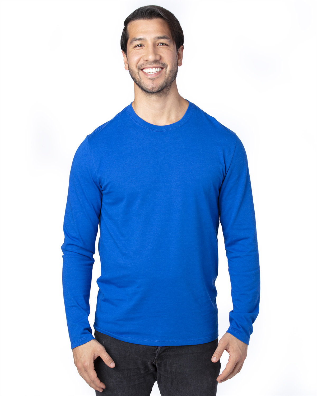 Threadfast Apparel Unisex Ultimate Long-Sleeve T-Shirt ROYAL