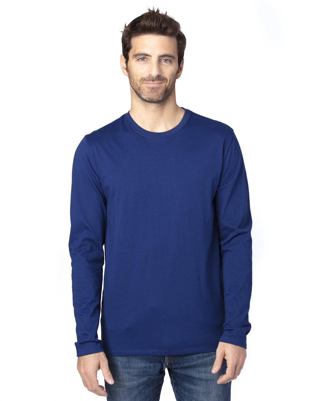 Threadfast Apparel Unisex Ultimate Long-Sleeve T-Shirt NAVY