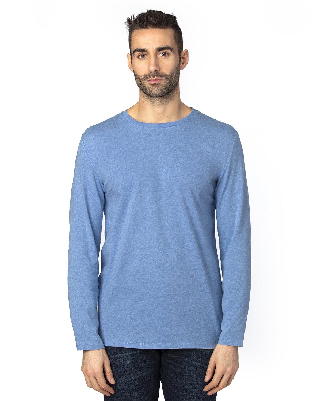 Threadfast Apparel Unisex Ultimate Long-Sleeve T-Shirt ROYAL HEATHER