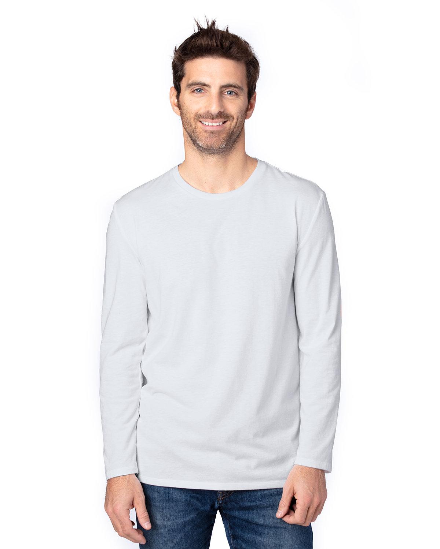 Threadfast Apparel Unisex Ultimate Long-Sleeve T-Shirt SILVER
