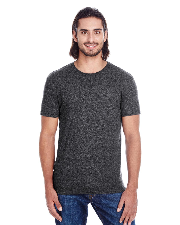 Threadfast Apparel Unisex Triblend Short-Sleeve T-Shirt BLACK TRIBLEND
