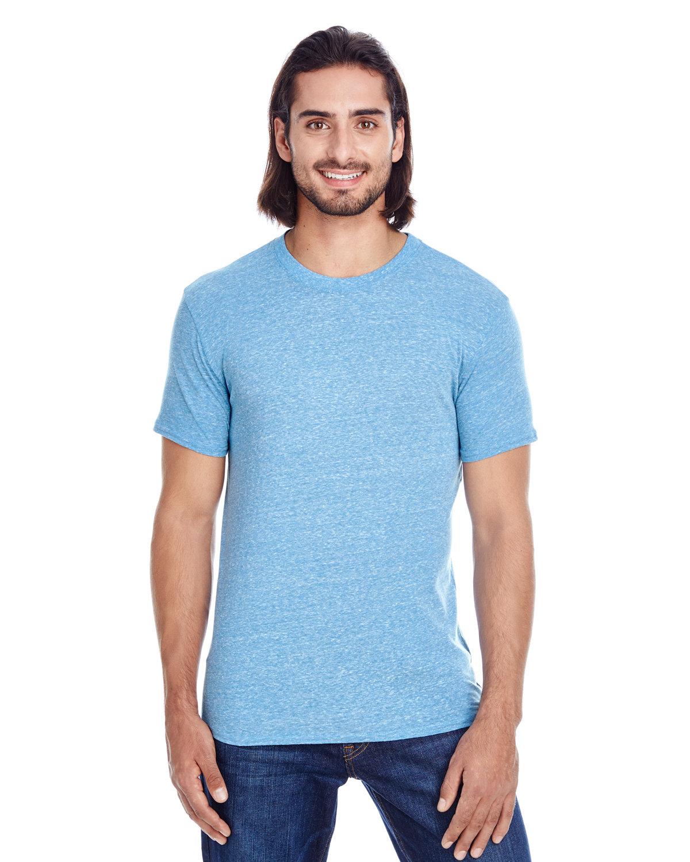 Threadfast Apparel Unisex Triblend Short-Sleeve T-Shirt ROYAL TRIBLEND