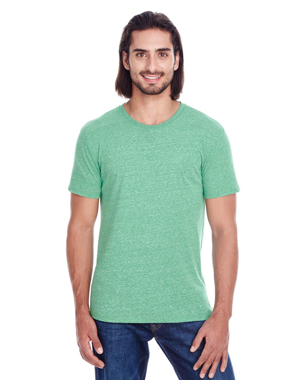 Threadfast Apparel Unisex Triblend Short-Sleeve T-Shirt GREEN TRIBLEND