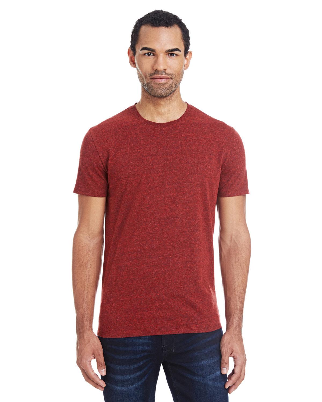 Threadfast Apparel Unisex Triblend Short-Sleeve T-Shirt CARD BLCK TRBLND