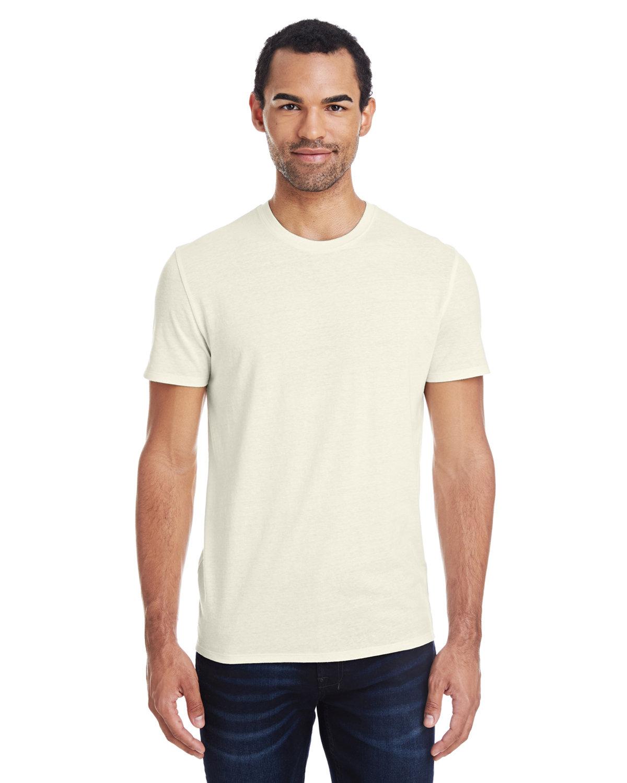 Threadfast Apparel Unisex Triblend Short-Sleeve T-Shirt CREAM TRIBLEND