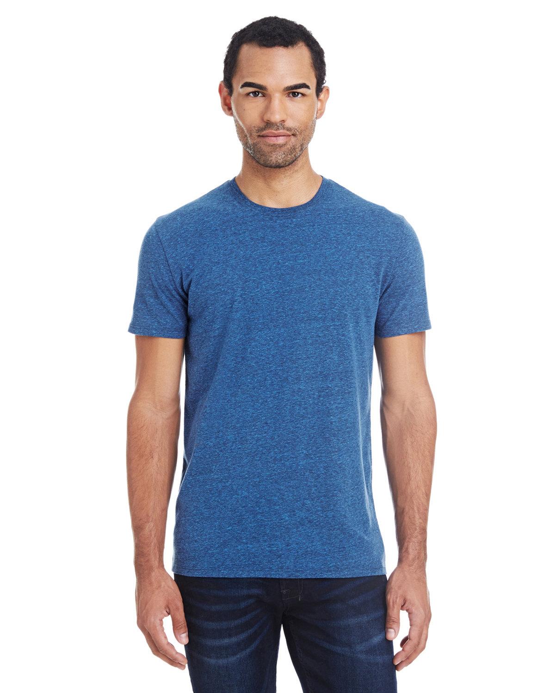 Threadfast Apparel Unisex Triblend Short-Sleeve T-Shirt ROYAL BLK TRBLND