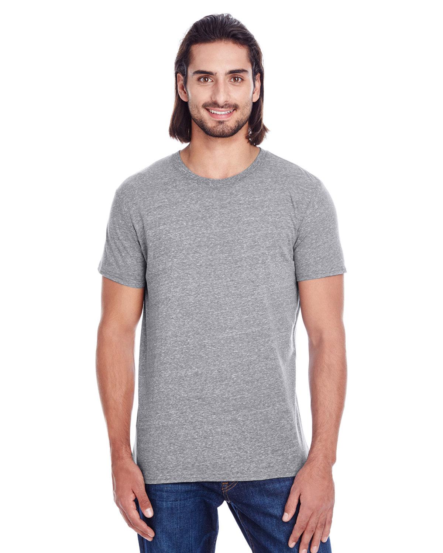 Threadfast Apparel Unisex Triblend Short-Sleeve T-Shirt GREY TRIBLEND