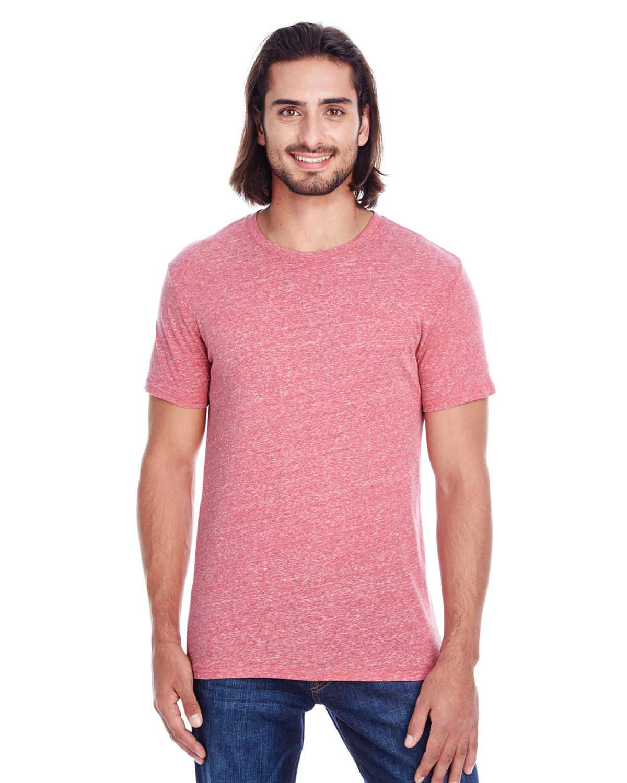 Threadfast Apparel Unisex Triblend Short-Sleeve T-Shirt RED TRIBLEND