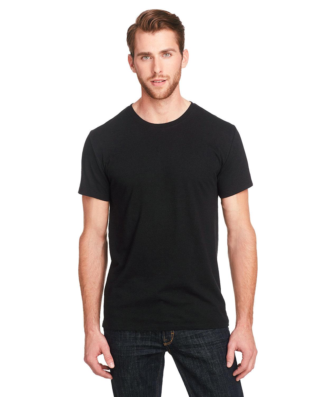 Threadfast Apparel Unisex Triblend Short-Sleeve T-Shirt SOLID BLK TRBLND
