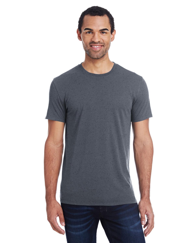 Threadfast Apparel Men's Triblend Fleck Short-Sleeve T-Shirt CHARCOAL FLECK