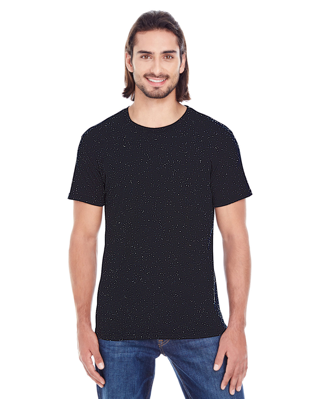 Threadfast Apparel Men's Triblend Fleck Short-Sleeve T-Shirt BLACK FLECK
