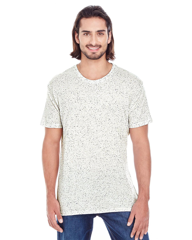 Threadfast Apparel Men's Triblend Fleck Short-Sleeve T-Shirt CREAM FLECK