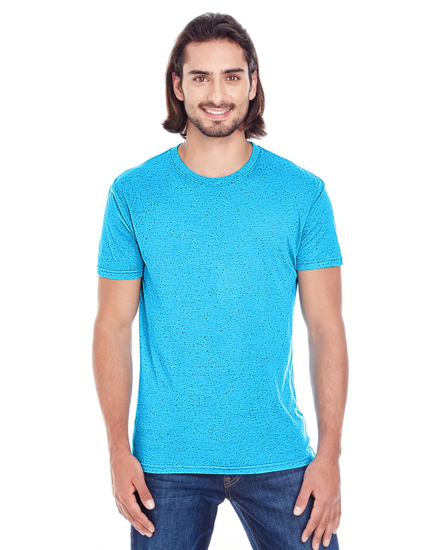 Threadfast Apparel Men's Triblend Fleck Short-Sleeve T-Shirt TURQUOISE FLECK