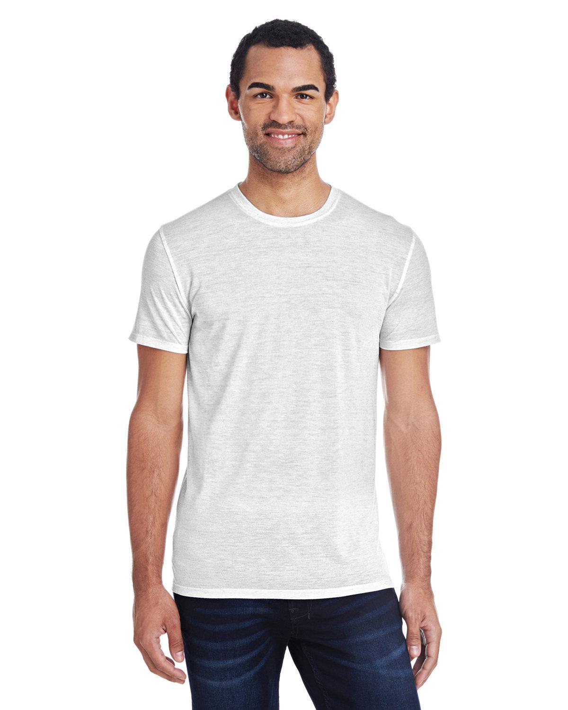 Threadfast Apparel Men's Blizzard Jersey Short-Sleeve T-Shirt WHITE BLIZZARD
