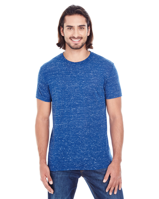 Threadfast Apparel Men's Blizzard Jersey Short-Sleeve T-Shirt ROYAL BLIZZARD