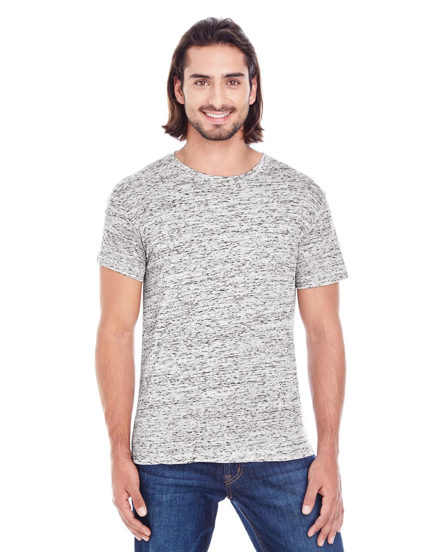 Threadfast Apparel Men's Blizzard Jersey Short-Sleeve T-Shirt SILVER BLIZZARD