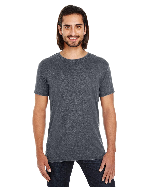 Threadfast Apparel Unisex Vintage Dye Short-Sleeve T-Shirt VINTAGE CHARCOAL