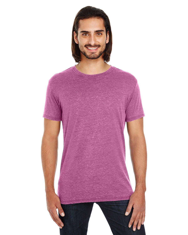 Threadfast Apparel Unisex Vintage Dye Short-Sleeve T-Shirt VINTAGE WINE