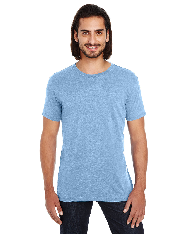 Threadfast Apparel Unisex Vintage Dye Short-Sleeve T-Shirt VINTAGE DENIM