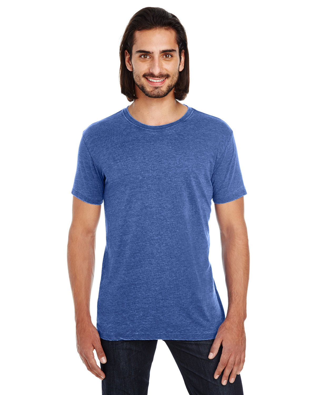 Threadfast Apparel Unisex Vintage Dye Short-Sleeve T-Shirt VINTAGE NAVY