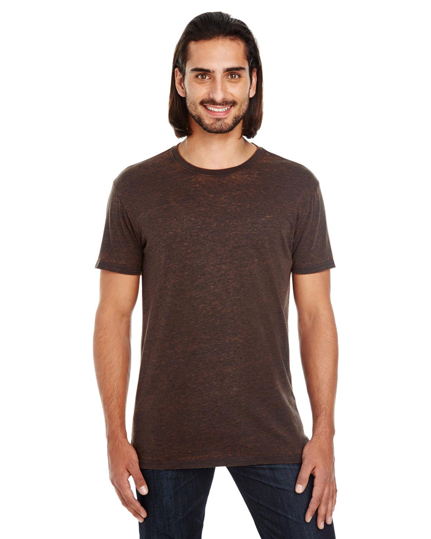 Threadfast Apparel Unisex Cross Dye Short-Sleeve T-Shirt FLAME