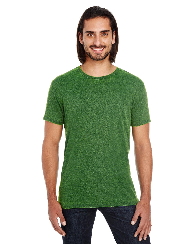 Threadfast Apparel Unisex Cross Dye Short-Sleeve T-Shirt EMERALD
