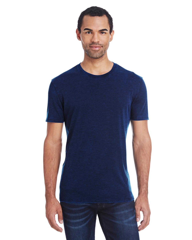 Threadfast Apparel Unisex Cross Dye Short-Sleeve T-Shirt ELECTRIC BLUE