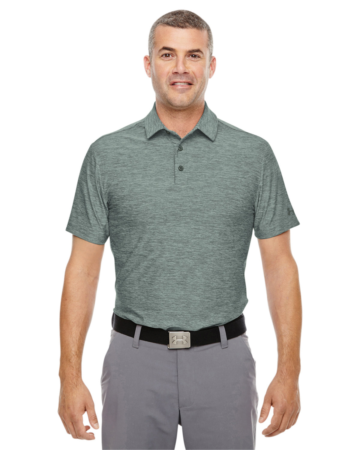 Under Armour SuperSale Men's Playoff Polo DWNTWN GR TW _330