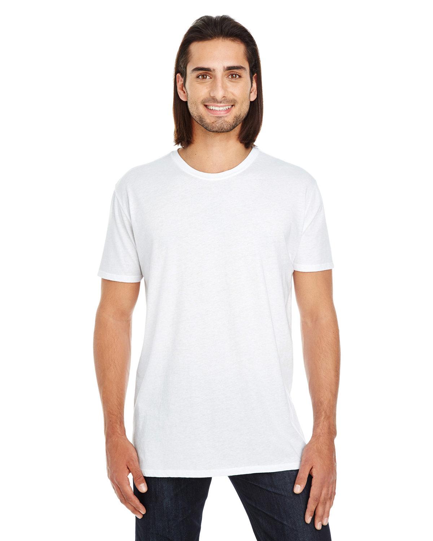 Threadfast Apparel Unisex Pigment-Dye Short-Sleeve T-Shirt WHITE