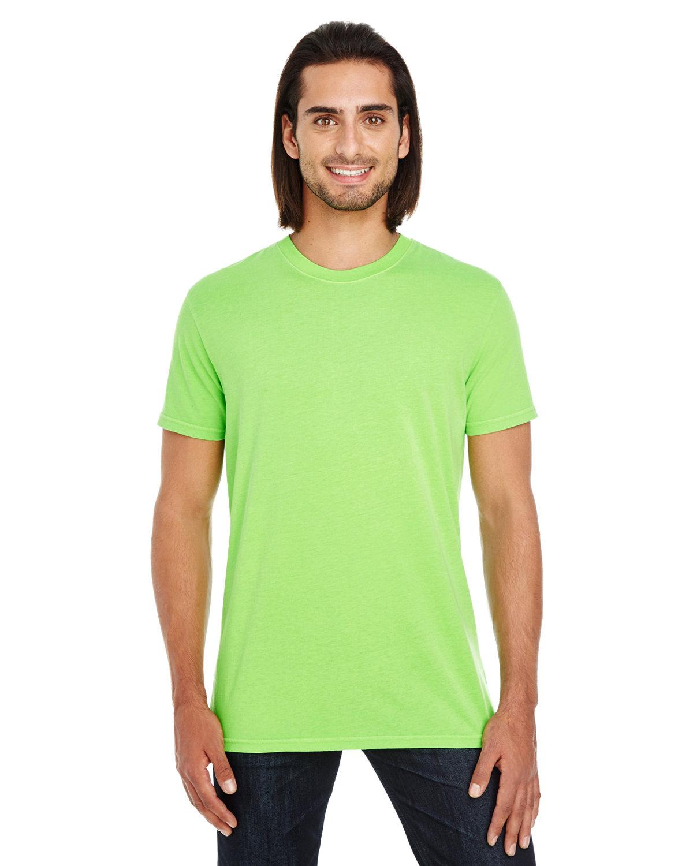 Threadfast Apparel Unisex Pigment-Dye Short-Sleeve T-Shirt LIME