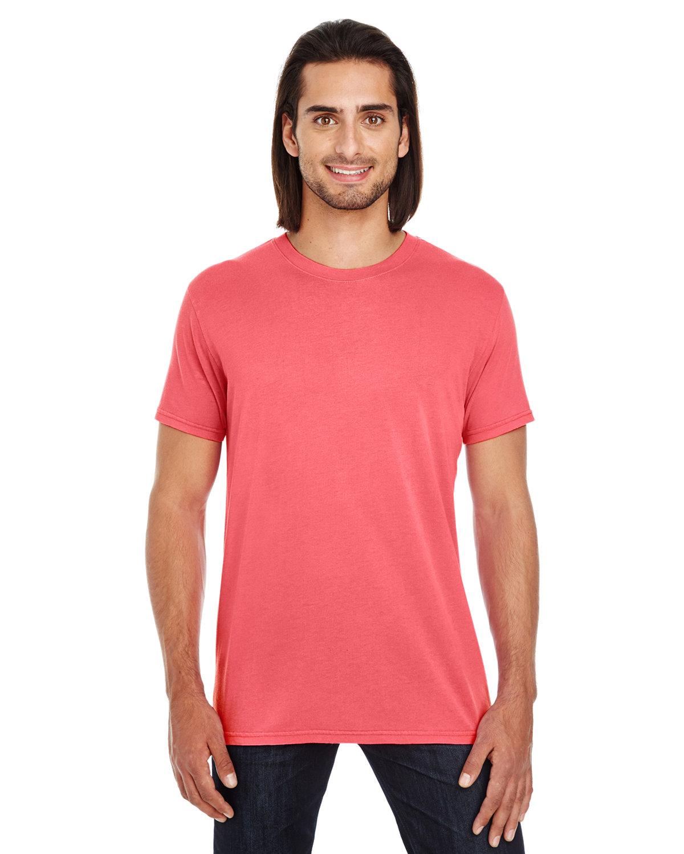 Threadfast Apparel Unisex Pigment-Dye Short-Sleeve T-Shirt RED