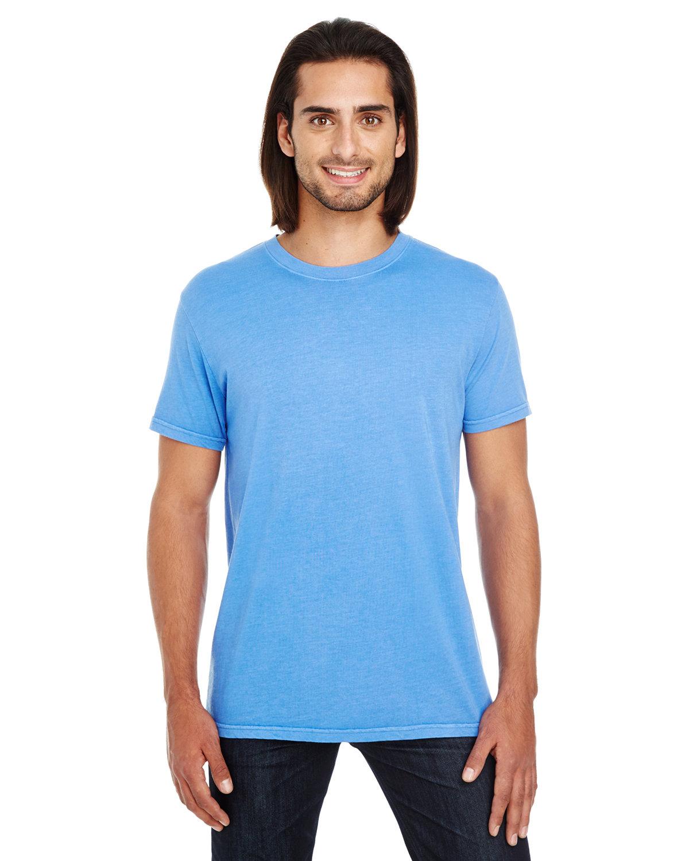 Threadfast Apparel Unisex Pigment-Dye Short-Sleeve T-Shirt ROYAL