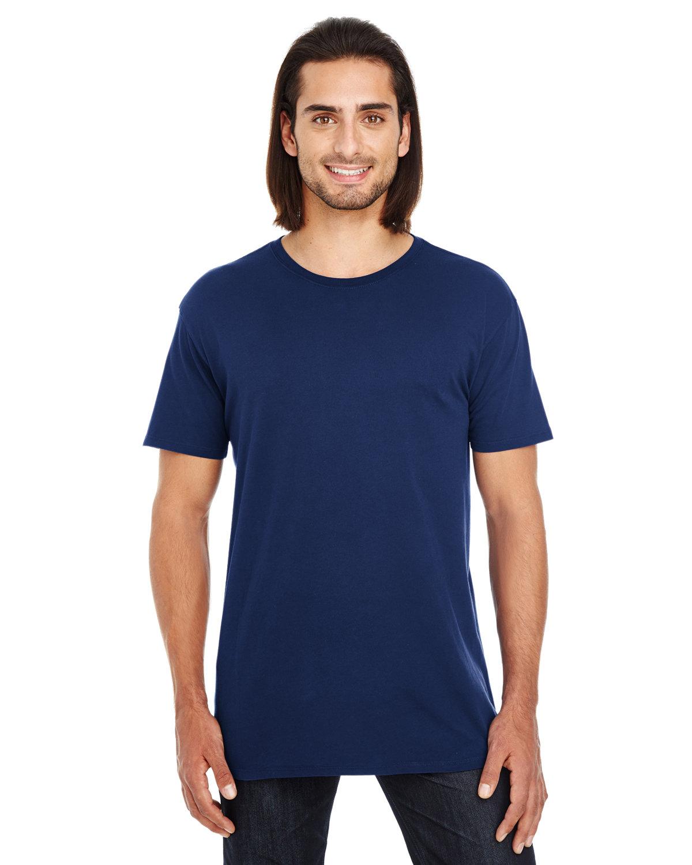 Threadfast Apparel Unisex Pigment-Dye Short-Sleeve T-Shirt NAVY