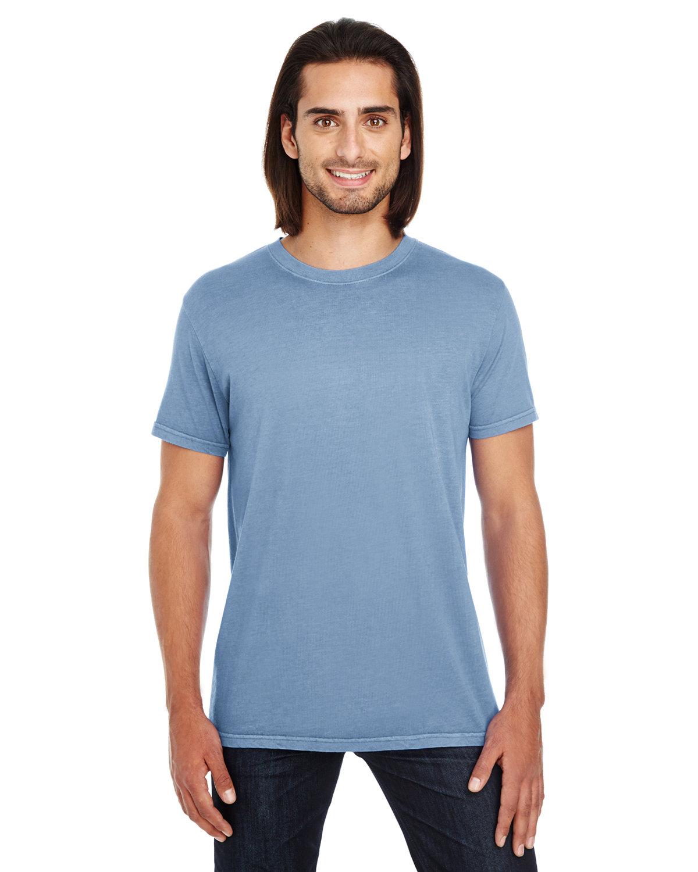 Threadfast Apparel Unisex Pigment-Dye Short-Sleeve T-Shirt DENIM