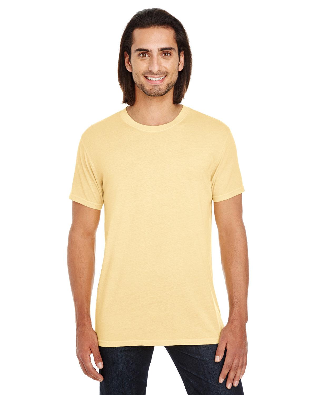 Threadfast Apparel Unisex Pigment-Dye Short-Sleeve T-Shirt BUTTER