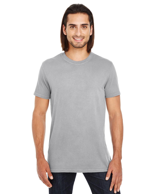 Threadfast Apparel Unisex Pigment-Dye Short-Sleeve T-Shirt GREY
