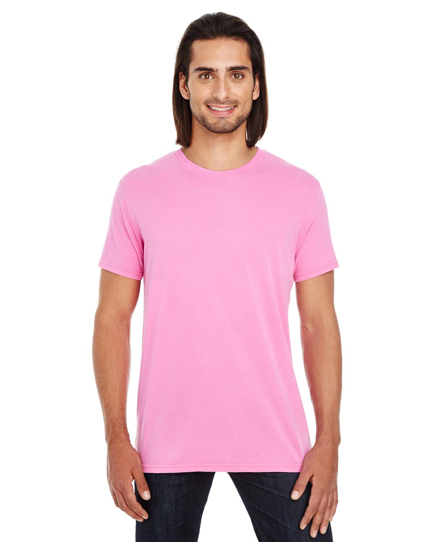 Threadfast Apparel Unisex Pigment-Dye Short-Sleeve T-Shirt CHARITY PINK